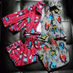 Flannel pajama bundle 18 months